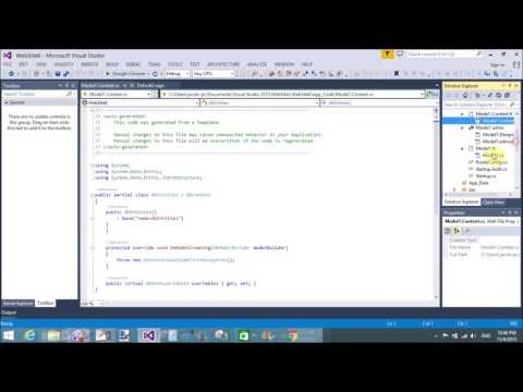 Get data from database using EDMX in ASP NET