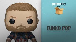 Funko Pop Prime Day Deals: Funko Marvel Avengers Infinity War Captain America Funko Pop Bobble Head