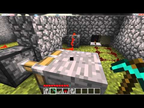 Minecraft 1.7.3 Piston Elevator