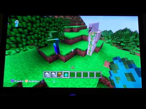 How to make a Snowman and Iron Golem in Minecraft XBox360