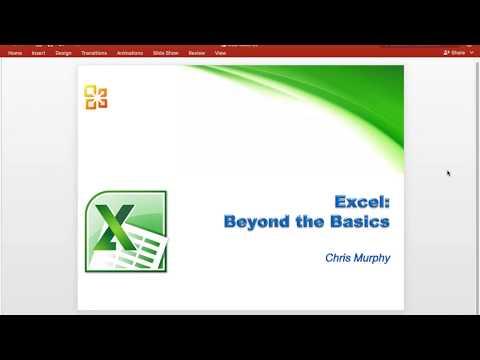 Excel: Intermediate
