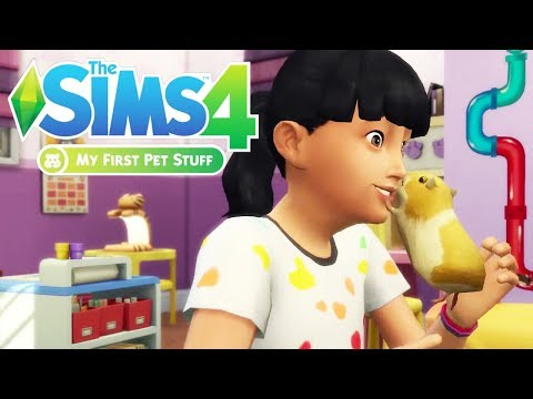 MY FIRST PET STUFF TRAILER REACTION/THOUGHTS🐹 // THE SIMS 4