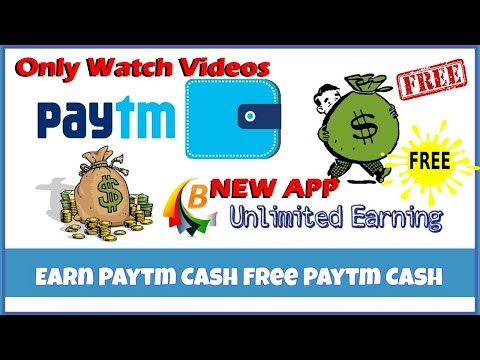 Earn and get free paytm cash Unlimited earning