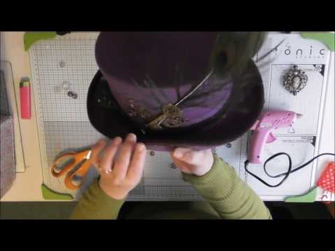 How to Decorate Top Hat Steampunk Style