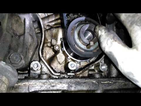 1998 Honda accord timing belt and crankshaft sensor part 1