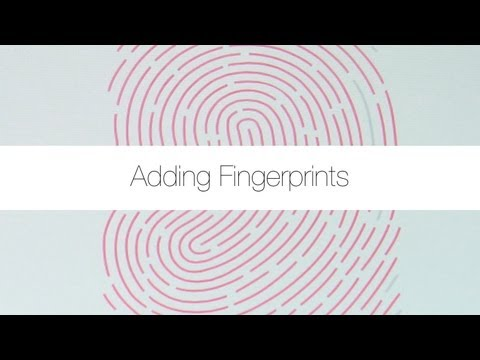 Adding and Deleting Fingerprints for Touch ID