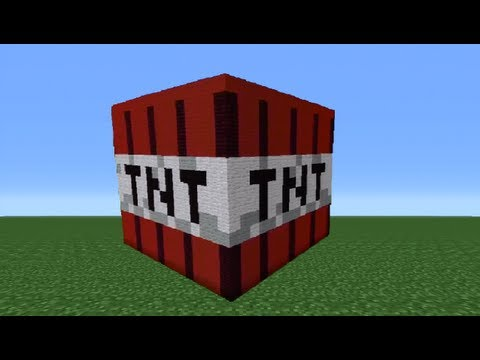 Minecraft 360: How To Make A TNT Statue