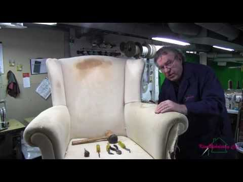 Wingback Chair Teardown