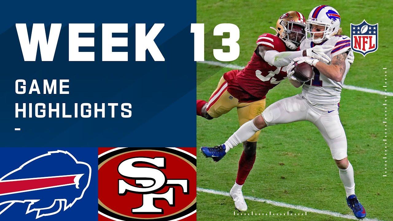 Bills vs. 49ers Week 13 Highlights | NFL 2020