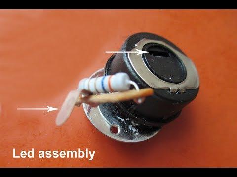 Led Flashlight repair