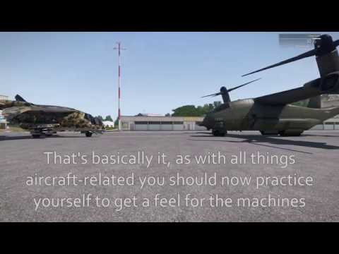 Arma 3 VTOL Take off and Landing Guide