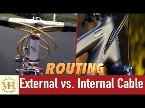 Bicycle cable routing | Internally vs Externally routed cables