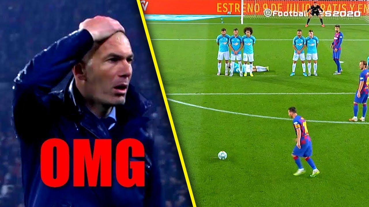 Lionel Messi - When Free Kicks Become Art