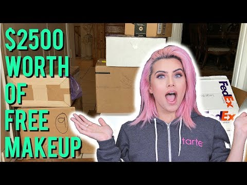 PR UNBOXING OVER $2500 WORTH OF MAKEUP CHIT CHAT| BodmonZaid