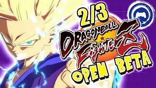 Dragon Ball FighterZ Open Beta Gameplay (2/3)   Stream Four Star