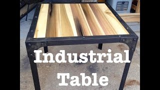 Industrial Table // How-To