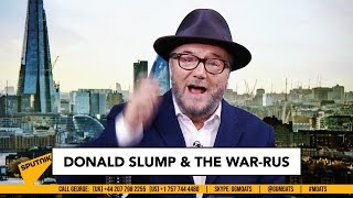 Donald SLUMP & the WAR-rus