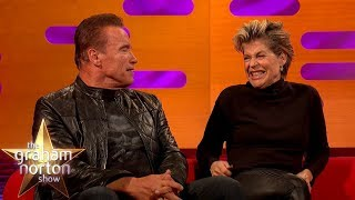 Arnold Schwarzenegger Finds Out Linda Hamilton Didn't Want To Work With Him | The Graham Norton Show