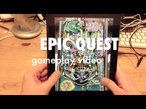 Epic Quest table from Zen Pinball on iPad (Gameplay Video)