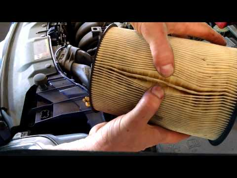 Air filter replacement 2012 Ford Focus 2.0L checking Install Remove Replace How to