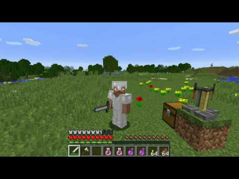 How to Make a Potion of Strength in Minecraft 1.11!