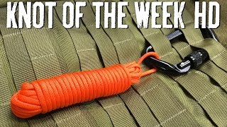 Access Paracord Quickly with a Deployment Lanyard - ITS Knot of the Week HD