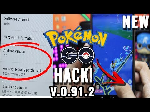 New Pokemon Go HACK 0.91.2 Works On All Android+All Security Patches+(NO FAILED TO DETECT LOCATION)