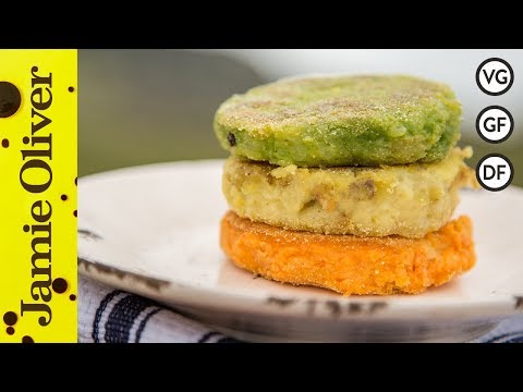 Irish Flag Potato Cakes | The Happy Pear