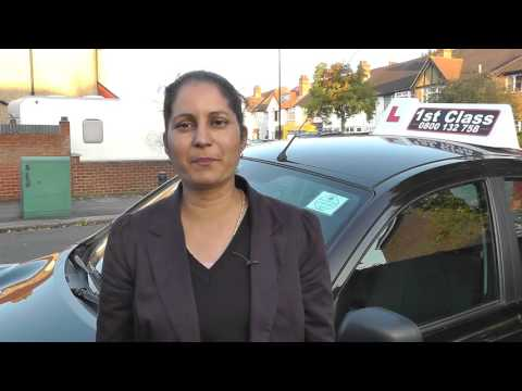 Driving Instructor Training testimonial Parveen
