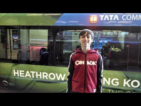 London, England Heathrow Express (Train) 2016