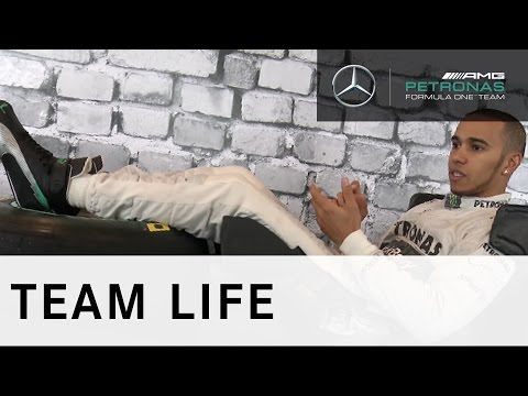 Lewis Hamilton explains his F1 driving position