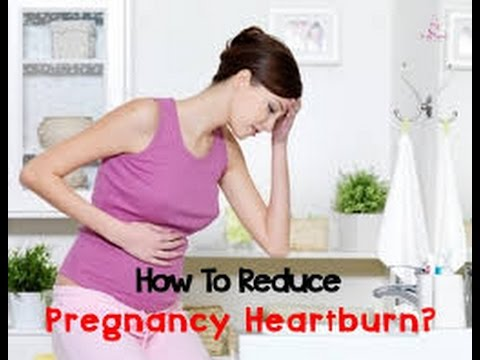 How Can I Get Rid of Heartburn While Pregnant