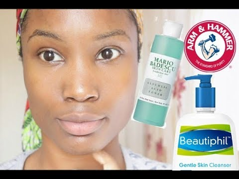 My Quick skin care routine + Whitening my teeth - Reduce dark marks