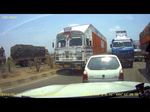 Andhra/Odisha Border Checkpost.