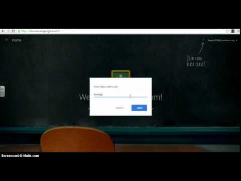 How to Join Google Classroom