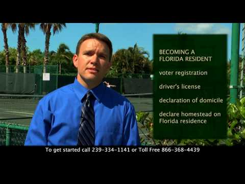 Florida Residency and Estate Planning Part 1