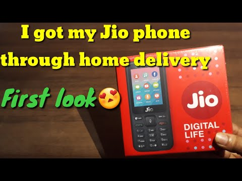 My new jio phone |Got through Home Delivery | Customer edition | First look