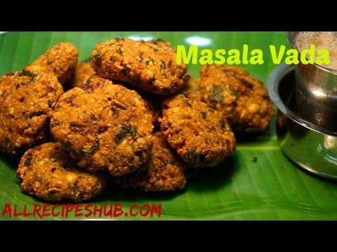 masala vada recipe | masal vadai | crispy masala vada