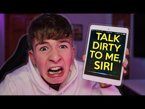 *SECRET* Siri Tricks!!! HILARIOUS SECRET SIRI COMMANDS!!!