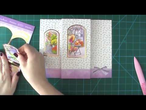 Hunkydory Tri-Fold Card