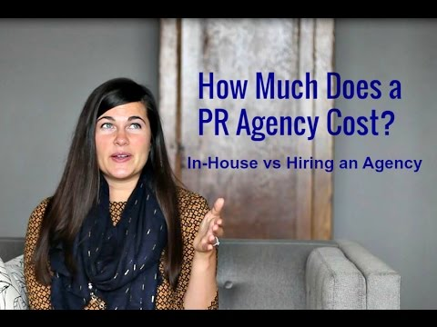 How Much Does a PR Firm Cost? (Pros, Cons of In-House PR vs Hiring an Agency)
