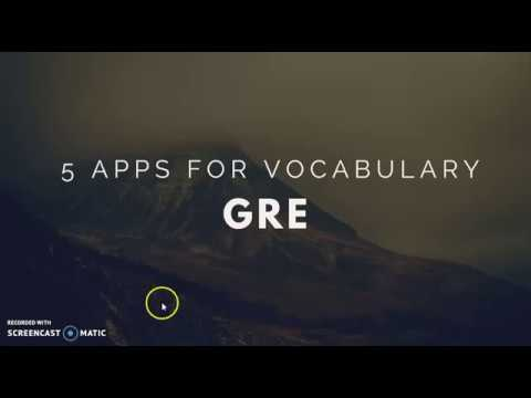 5 Best Apps for GRE Vocabulary   GRE Vocab Tips