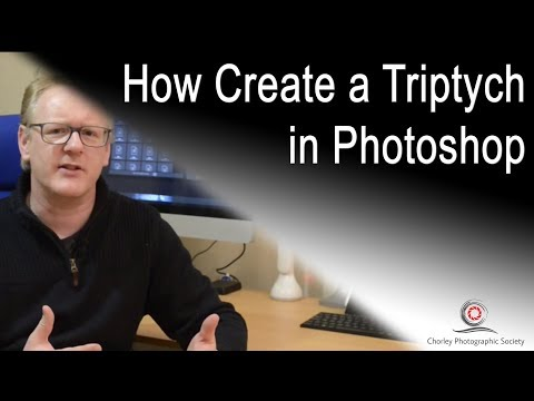 How to create a triptych in Photoshop, with Will Stead