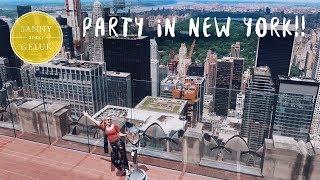 Vetste rooftop ever & uitgaan in New York🇺🇸 | Sanny zoekt Geluk