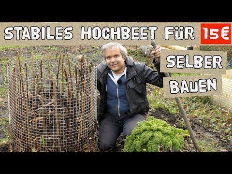 Stabiles Hochbeet für 15€ selber bauen - DIY Hochbeet aus Metal