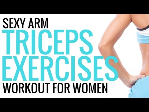 Workouts for Women  - Tricep Exercises - Christina Carlyle