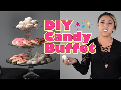 DIY Candy Buffet Table - For Your Party!