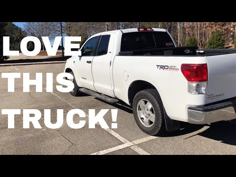 5 Things I Love About My Toyota Tundra TRD 4.6 V8 Pick Up Truck
