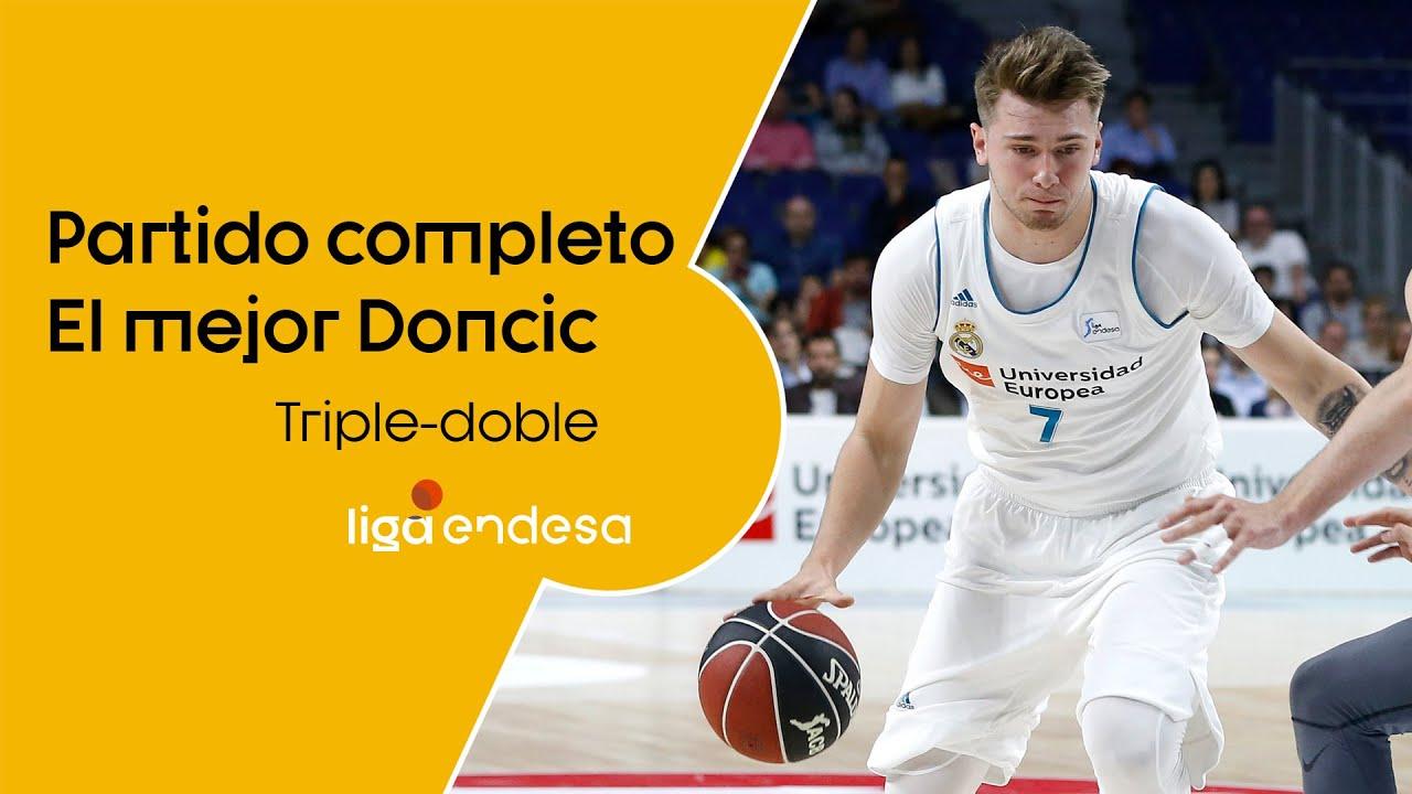 PARTIDO COMPLETO: el mejor Luka Doncic | Real Madrid - Real Betis Energía Plus