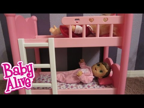 BABY ALIVE Bunk Beds from You & Me! Great for Baby Alive Dolls, Bitty Baby Twins or Bitty Babys!